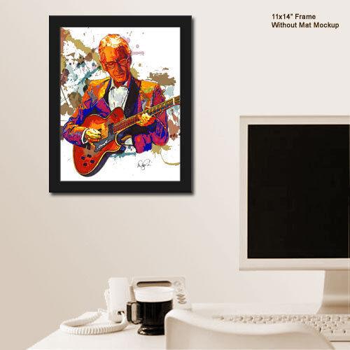 "Pat Martino Bebop Jazz Guitar Joyous Lake 11x14/"" Music Art Print Poster"