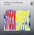 Karlheinz Stockhausen: Kontakte (CD, Dec-1992, Wergo)
