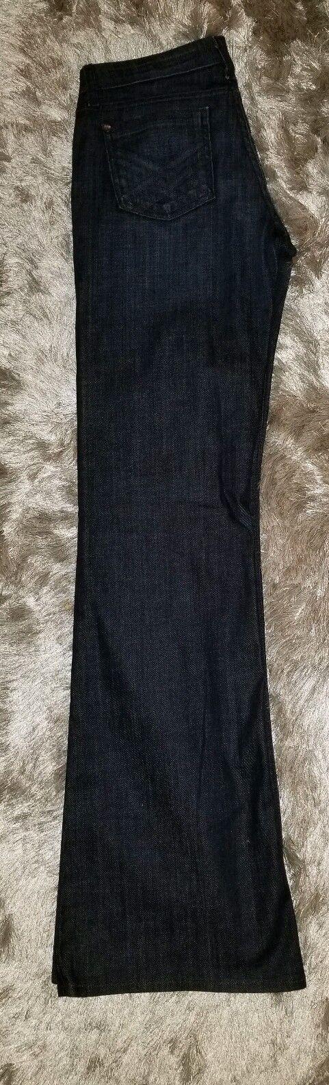 FIDELITY Women Octavia Cotton Denim bluee Jeans Pants Bootcut Long 28