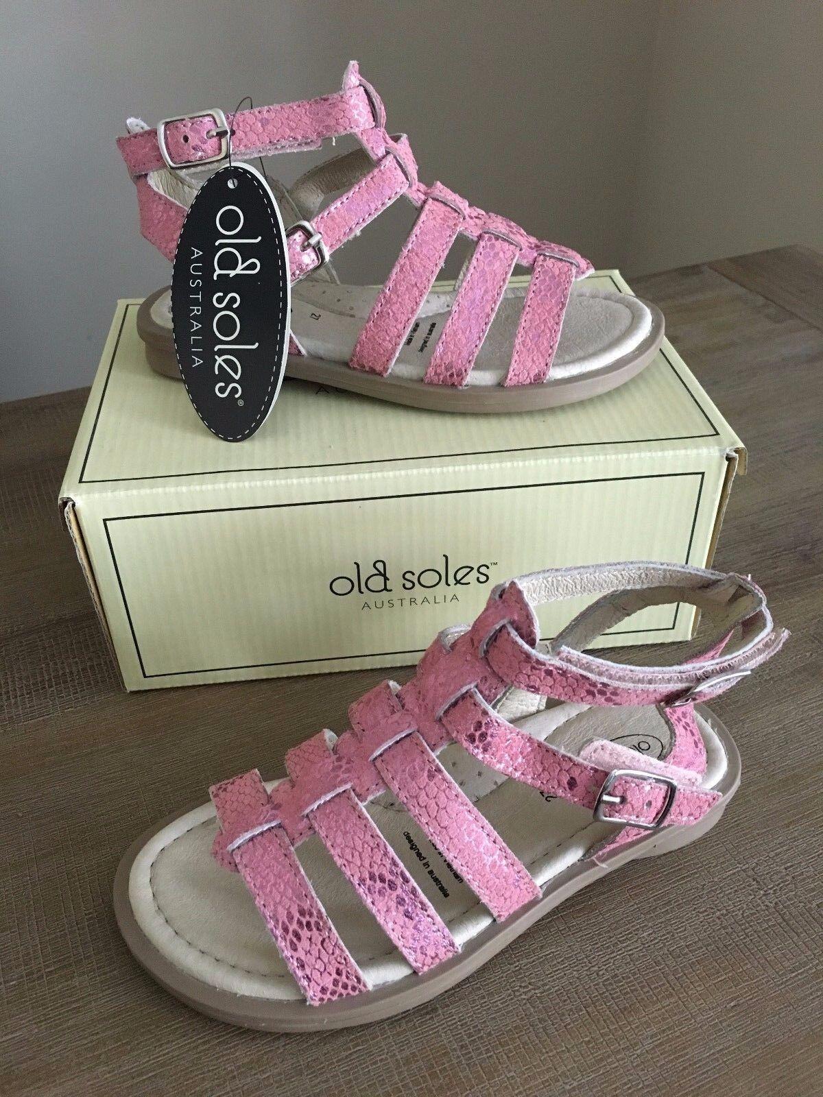 3.5 US 25-35 EU 11 NIB Old Soles Casting Powder Pink Sneakers 9 12 10 1