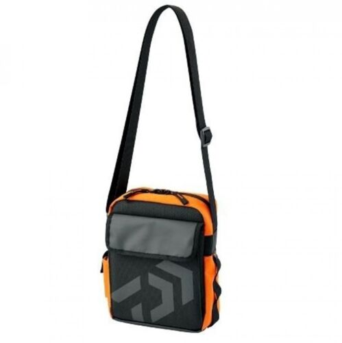 1000 Fishing Bag C F//S Camouflage, Black, Orange Daiwa Shoulder Pouch