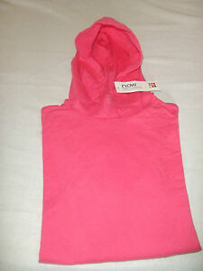 NEW-OUTWEAR-T-SHIRT-MANCHES-LONGUES-A-CAPUCHE-14-ANS-FILLE