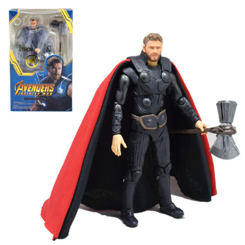 S.H.Figuarts SHF Marvel Captain America Infinity War THOR Action Figure 15CM Toy