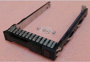 "Genuine New HP G8 G9 Gen9 651687-001 SFF disque dur 2.5"" Tray Caddy 653955 DL380p G9"