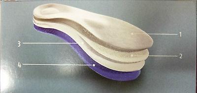 BERGAL Active Plus Sport Fußbett Einlagen Schuheinlage Einlegesohlen Frottee