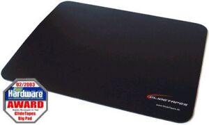 GlidePad-Mauspad-Big-schwarz-mit-Glidetapes-PTFE-Teflon-Maustapes