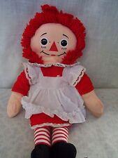 "Vintage Raggedy Ann Doll 18"""