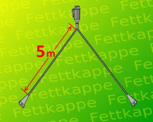 Aspöck Multipoint 2 Leuchten Set Anhängerbeleuchtung 13polig 5m Kabelbaum