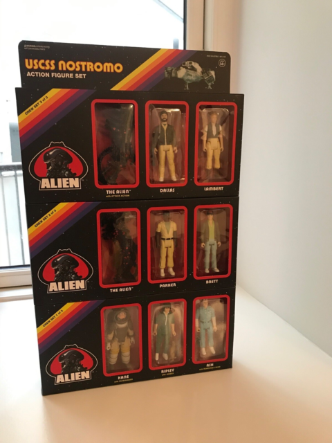 Samlefigurer, Re-Action Figure, Limited edition, USCSS…