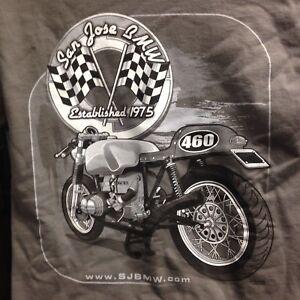 San Jose BMW >> Details About San Jose Bmw Cafe Racer T Shirt