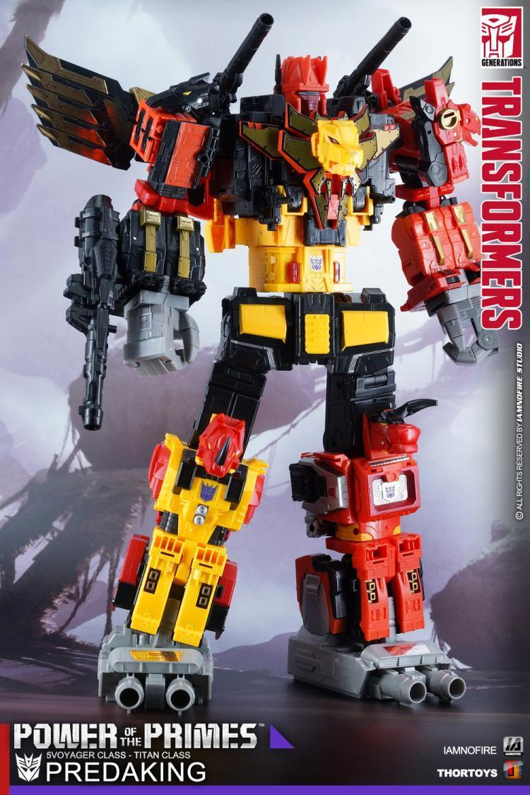 Hasbro Ptop G1 Transformers Power Of The Primes Titans Class Predaking PP-31 New