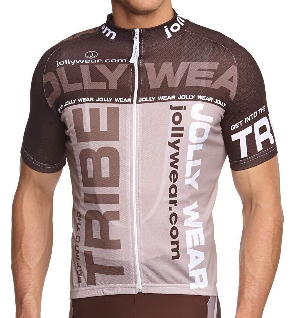 JOLLYWEAR Cycling Short Sleeve Jersey BRUNO Size 2XL New with Tags UK Free P&P
