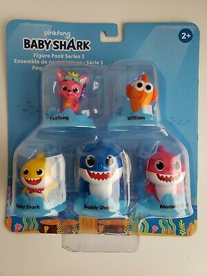 Baby shark 5 figure pack series1 pinkfong 2020 WowWee ages