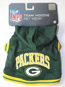 Green-Bay-Packers-Extra-Small-XS-6-9-Pet-Dog-NFL-HOODIE-NEW