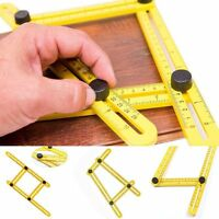 Multi-Angle Four-Sided Rulers Measuring Instrument Ruler Template Tool Mechanism