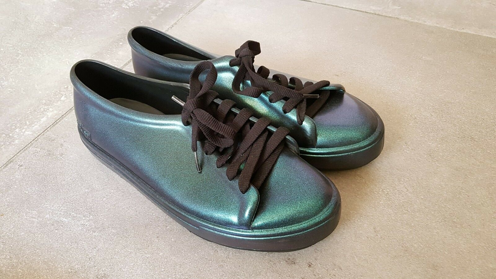 Melissa Be Shine Iridescent teal US Taille 8 Europe 39