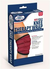 Knee Therapy Wrap Hot Cold Aches Pains Universal Support Adjustable Therapeutic