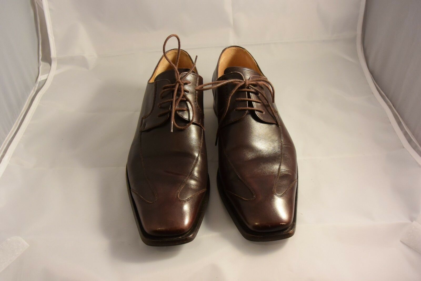 Mezlan Brown Leather Loafer shoes Mens 10M  Brynner  Made in Spain