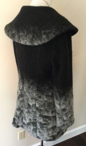 Mohair Blend Coat Medium Størrelse Grå Kreio RZqv6