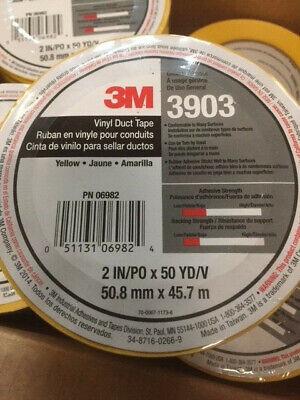 3 in x 50 yd 3M Vinyl Duct Tape 3903 6.5 mil Gray