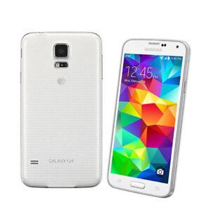 NUOVO-SAMSUNG-GALAXY-S5-G900F-unlock-4G-LTE-Bianco-Smartphone
