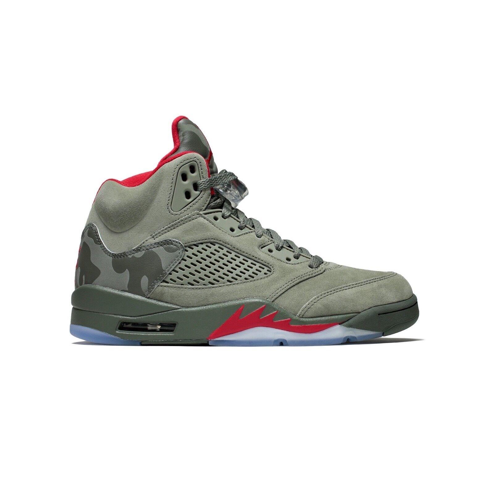 Hombre Nike Air Jordan Retro 5 Camo Air Nike Athletic tenis informales de moda 136027 051 386c71