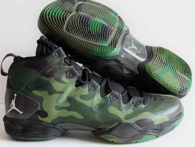 c951c16623e Nike Air Jordan Xx8 SE Black-white-green Camo Sz 7 616345-035 for ...