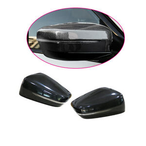 Carbon-Fiber-Rear-Mirror-cover-caps-For-BMW-5-Series-G30-G38-RHD-2017-2019