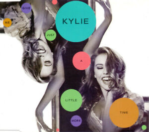 Kylie-Minogue-Maxi-CD-Give-Me-Just-A-Little-More-Time-Germany-M-EX