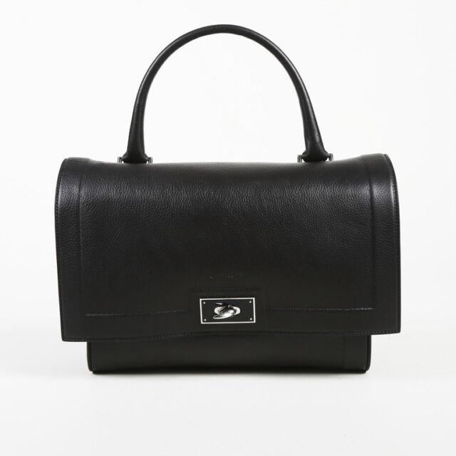 Givenchy Small Shark Waxy Calfskin Shoulder Bag