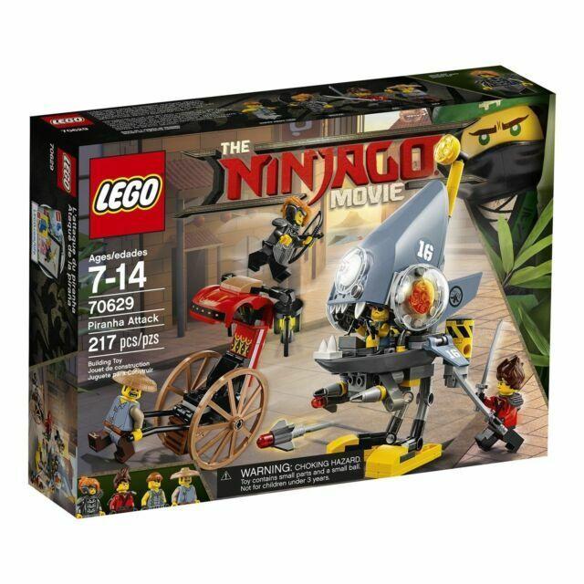 Lego Ninjago Piranha Attack 70629 For Sale Online Ebay