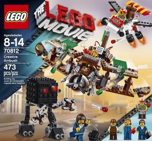 NEW The LEGO MOVIE Creative Ambush 70812 Flying Flying Flying Kebab Stand Plane Cannons NIB 55411f