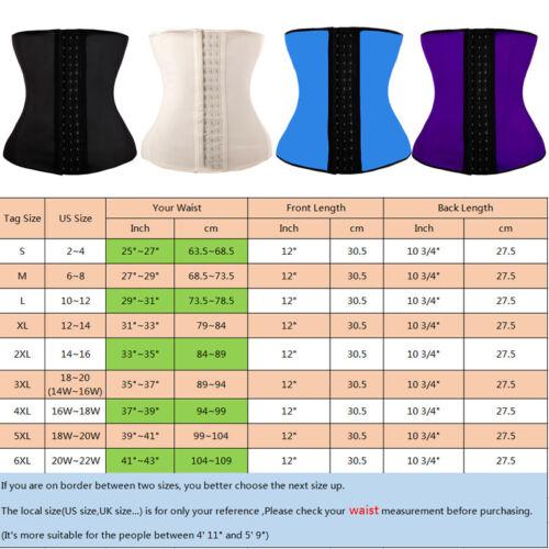 Details about  /Fajas Colombianas Reductoras Latex Waist Trainer Girdle Corset Vest Shapewear US