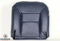 95-99 Chevy Tahoe Z71 Lifted 2-door Sport -driver Bottom Leather Seat Cover Blue