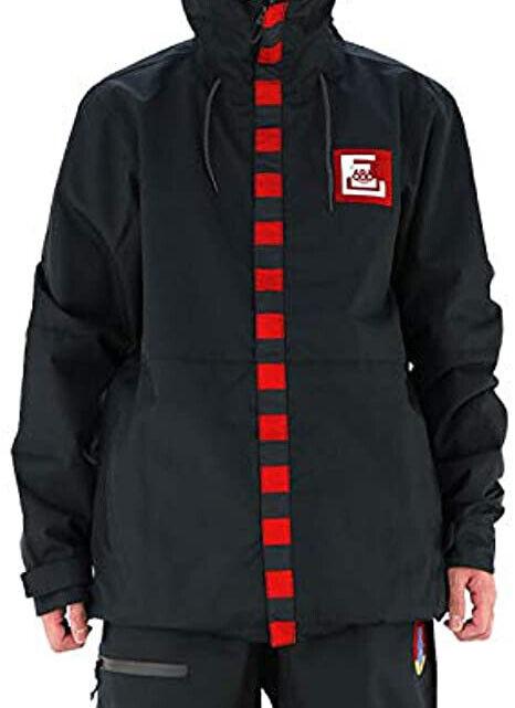 686 Target Snowboard Jacket (L) Printed Black L8W121-BLK