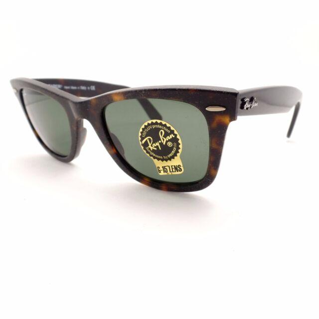 f0f382856009e ... wholesale ray ban wayfarer 2140 1185 havana aged effect green g15 new  authentic rl 0ad4f 7dfbd