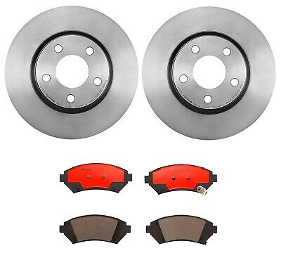 """2000 2001 2002 For Buick LeSabre Front Disc Brake Rotors and Pads w//16/"""" Whls"""