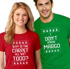 TODD & MARGO Couple T-shirt Christmas Vacation funny unisex ladies men tee