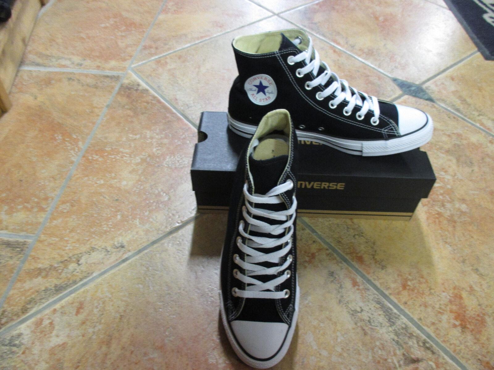 Converse Chucks All Star HI Größe 46,5 BLACK schwarz M9160C Neu Sneaker