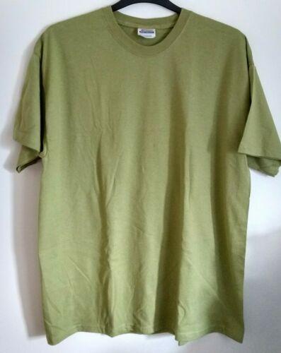 Hanes Beefy Crew Neck T Shirt Pine Green Size XL NEW