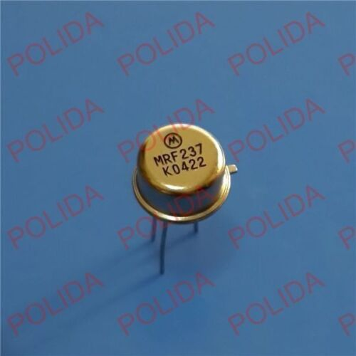 CAN-3 MRF237 TO-39 MSC 1PCS rf//VHF//UHF Transistor MOTOROLA//MICROSEMI