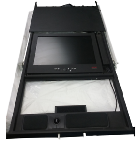 APC-AR8215-15-034-KVM-Rackmount-LCD-Monitor-Servers-W-Track-Ball-Missing-Keyboard
