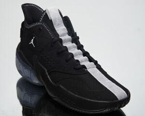 Jordan réagissent Elevation Homme Noir Blanc Athlétique Basketball Baskets Chaussures