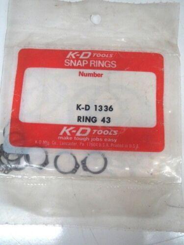 LL3198-2 SNAP RINGS No.43 K-D1336 40 PCS