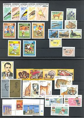 67 Stamps ** Mnh Vf @5 3 X Block Constructive Russia-azerbeidjan-azerbaijan