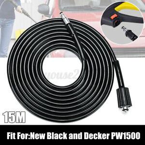 15M-Rohrreinigungsschlauch-Hochdruckreiniger-Schlauch-Fuer-Black-amp-Decker