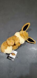 "Pokémon Center Sleeping Eevee Fluffy Poké 9.8/"" Plush"
