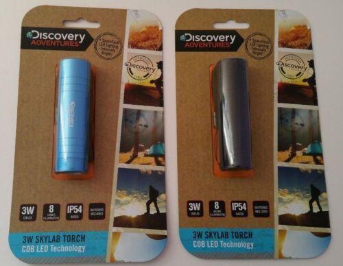 3W COB LED SkyLab Torch IP54 Lantern Lighting Flashing Bright Battery operated.