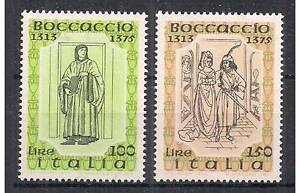 Italia 1975 Serie 6° centenario morte di Boccaccio MNH
