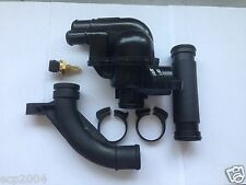 MG ROVER 75 KV6 V6 THERMOSTAT & PIPE FULL KIT MG ZS ZT WITH NEW COOLANT SENSOR